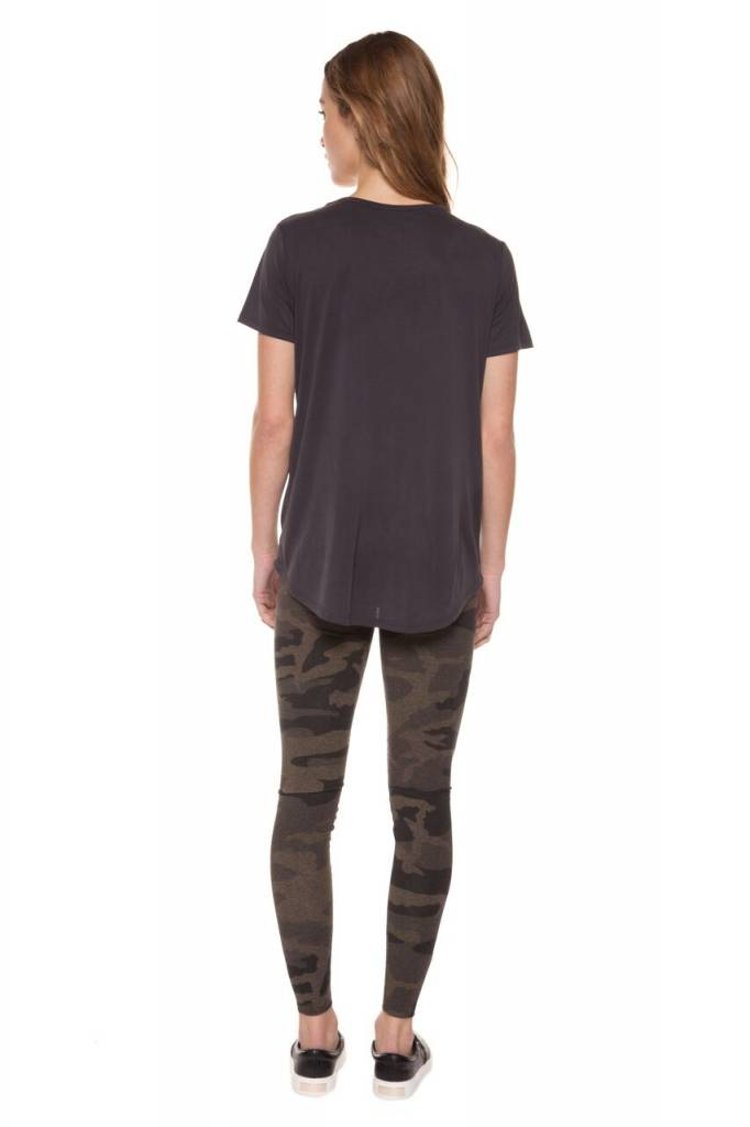 DEX CLOTHING S/S SCOOP NECK FROSTED TEE 1224128