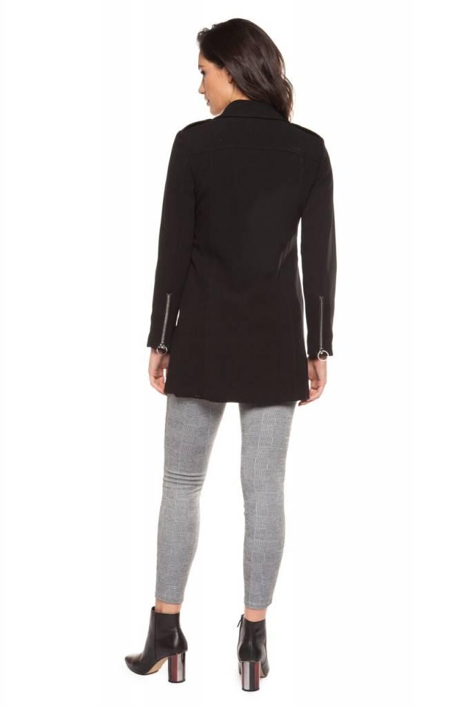 DEX CLOTHING SHORT SIDE ZIPPER JACKET 1229766