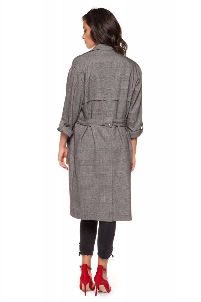 DEX CLOTHING 3/4 SL HOUNDSTOOTH JACKET 1229750