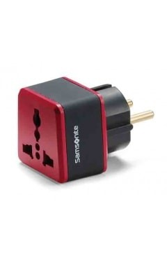 Samsonite Samsonite Grounded Adapter Plug Europe/Middle East