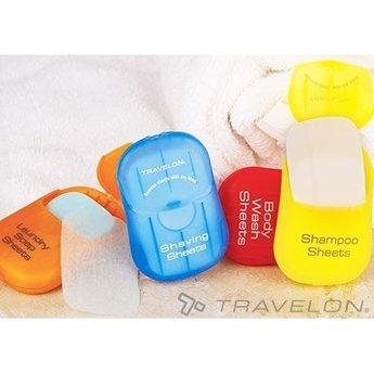Travelon Shampoing En Feuille Travelon