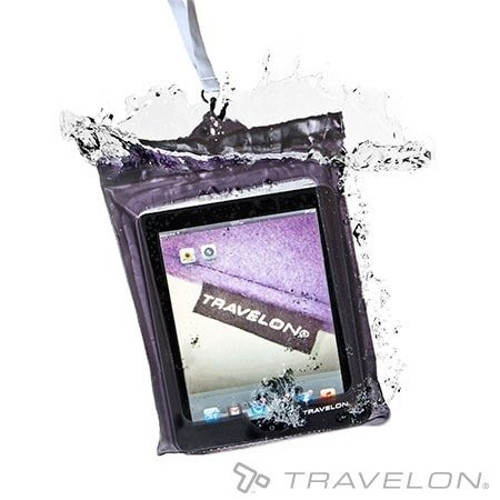 Travelon Travelon Waterproof Pouch For Ipad