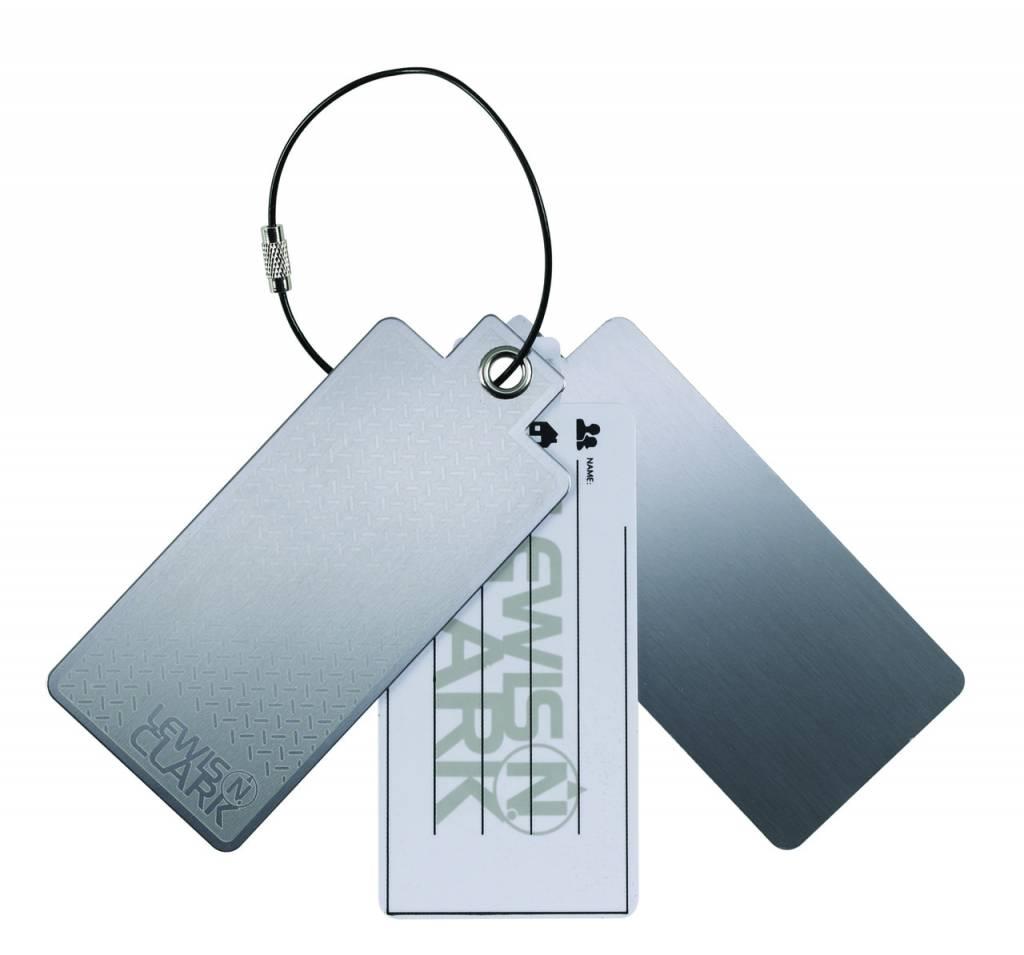 Lewis N.Clark Lewis N Clark Aluminum Luggage Tag