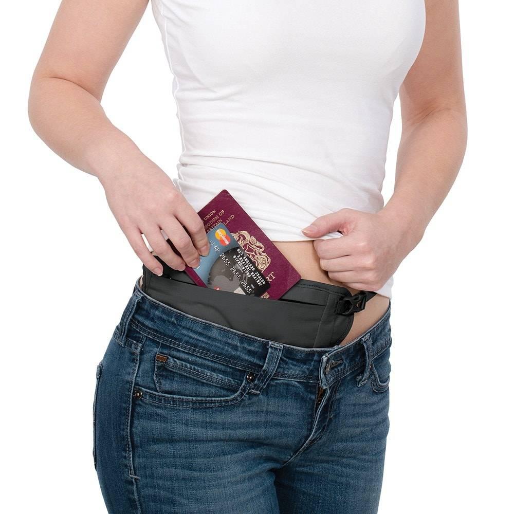 Pacsafe Pacsafe Coversafe V100 RFID Blocking Waist Wallet