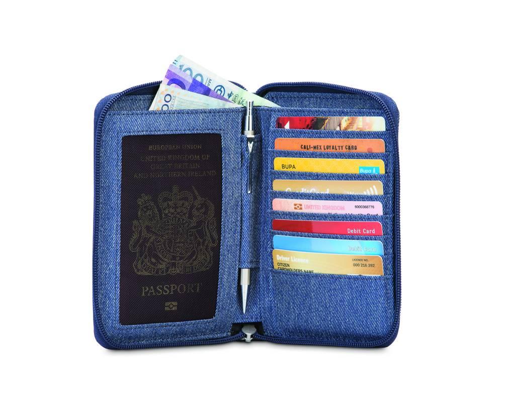 Pacsafe Pacsafe RFIDsafe™ Lx150 Rfid Blocking Zippered Passport Wallet