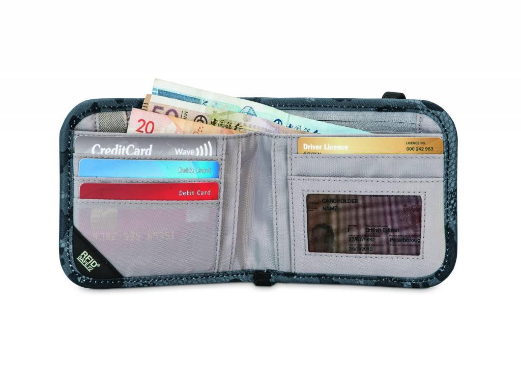 Pacsafe Pacsafe RFIDsafe™ V100 Anti-Theft Rfid Blocking Bi-Fold Wallet