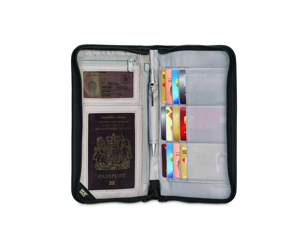 Pacsafe Organisateur de voyage Pacsafe RFIDsafe v200