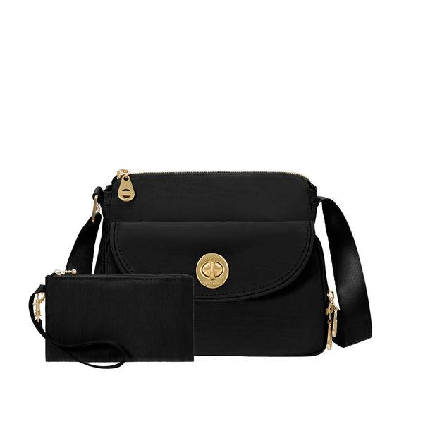 Baggallini Sac Bandouliere Baggallini International Gold Provence Crossbody