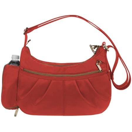 Travelon Travelon Signature Hobo Anti-Theft Shoulder Bag