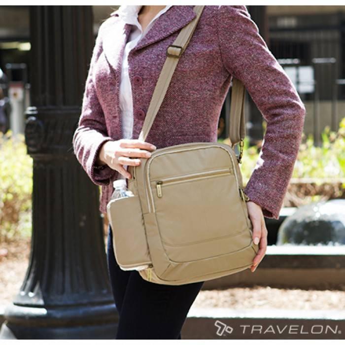 Travelon Travelon Signature N/S anti-theft shoulder bag