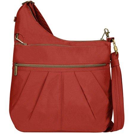 Travelon Travelon Signature 3 Compartment Anti-Theft Shoulder Bag