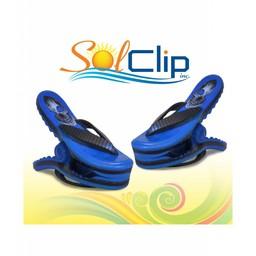 Solclip SolCLIP towel clip Flip Flop Skull