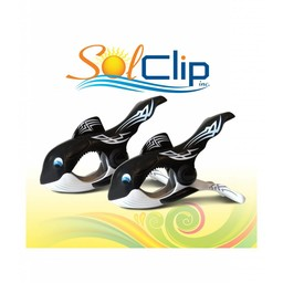 Solclip SolCLIP towel clip Whale Tattoo