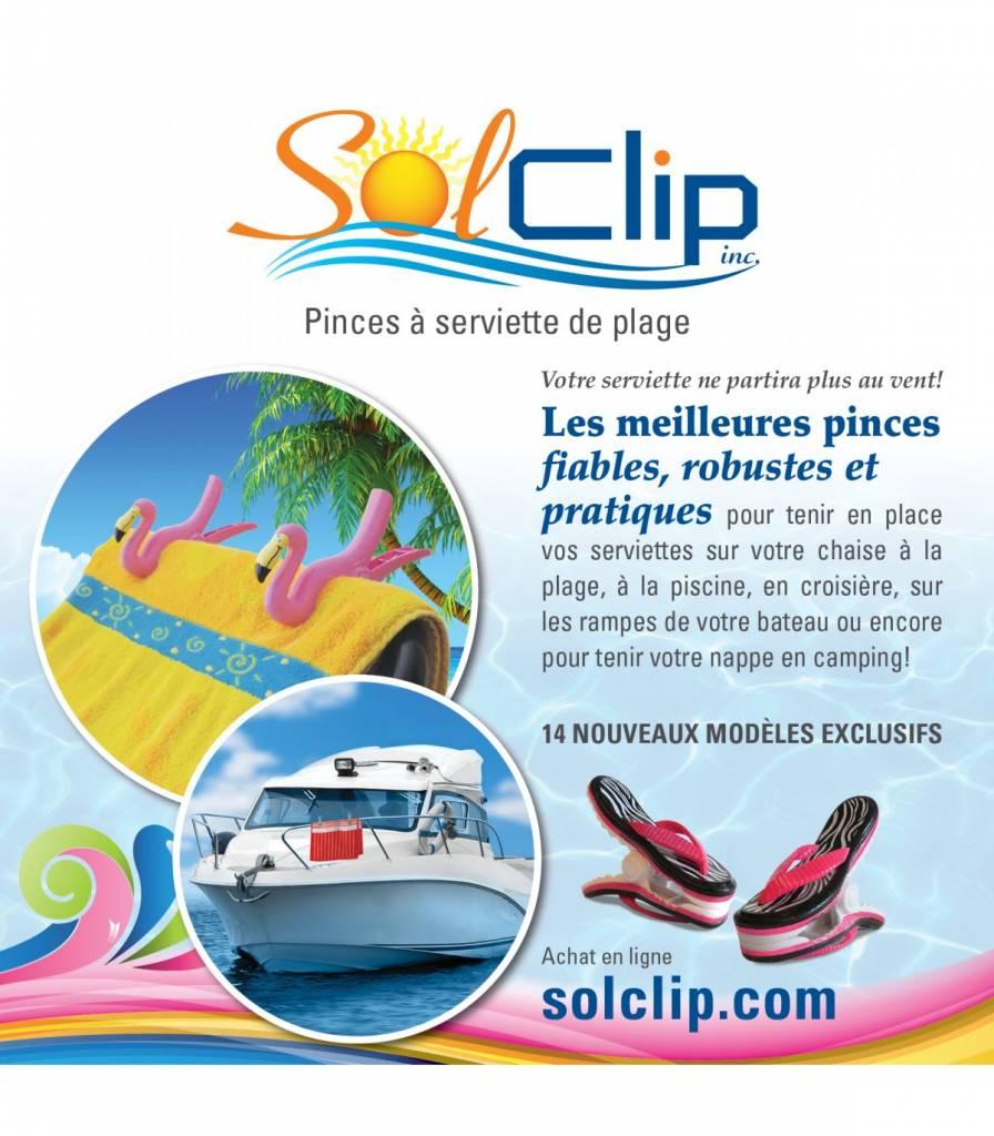 Solclip Pince a serviette SolCLIP Fish Silver
