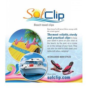Solclip Pince a serviette SolCLIP Parrot Red Macaw