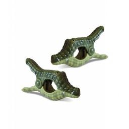 Solclip Pince a serviette SolCLIP Crocodile Caiman