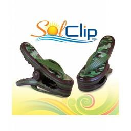 Solclip SolCLIP towel clip Flip Flop Army
