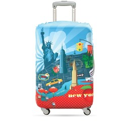 Loqi Housse De Valise Loqi Medium New-York