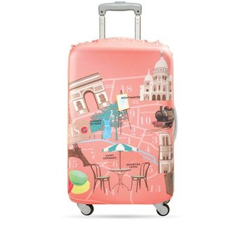 Loqi Housse De Valise Loqi Paris Medium