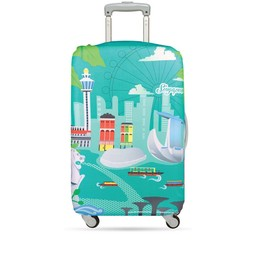 Loqi Housse De Valise Loqi Medium Singapore