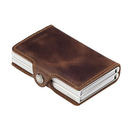 Secrid Twinwallet Secrid Brown Vintage