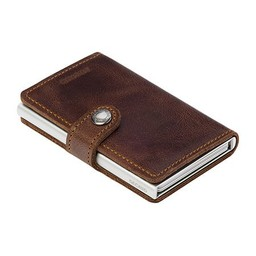 Secrid Miniwallet Secrid Brown Vintage