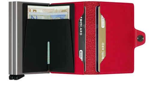 Secrid Twinwallet Secrid Red lipstick