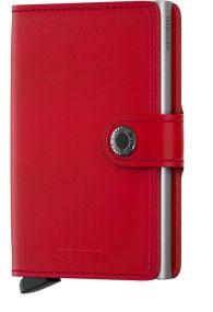 Secrid Miniwallet Secrid Red lipstick