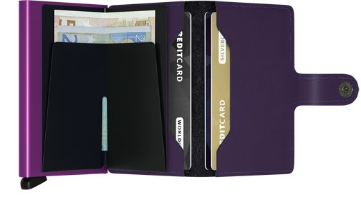 Secrid Miniwallet Secrid Matte Purple