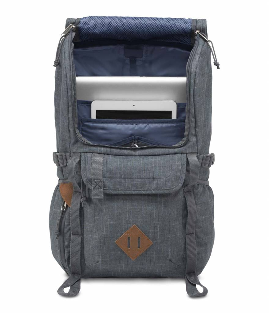 Jansport Jansport Hatchet Special Edition Backpack Grey Vanishing Rip