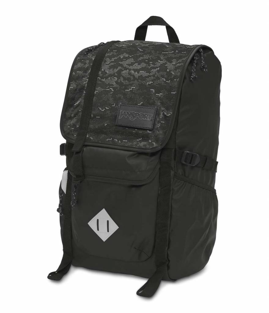 Jansport Sac A Dos Jansport Hatchet Special Edition Black Dot Matrix