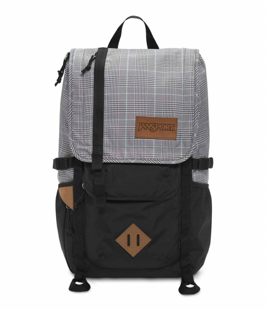 Jansport Sac A Dos Jansport Hatchet Special Edition Black / White Suited Plaid