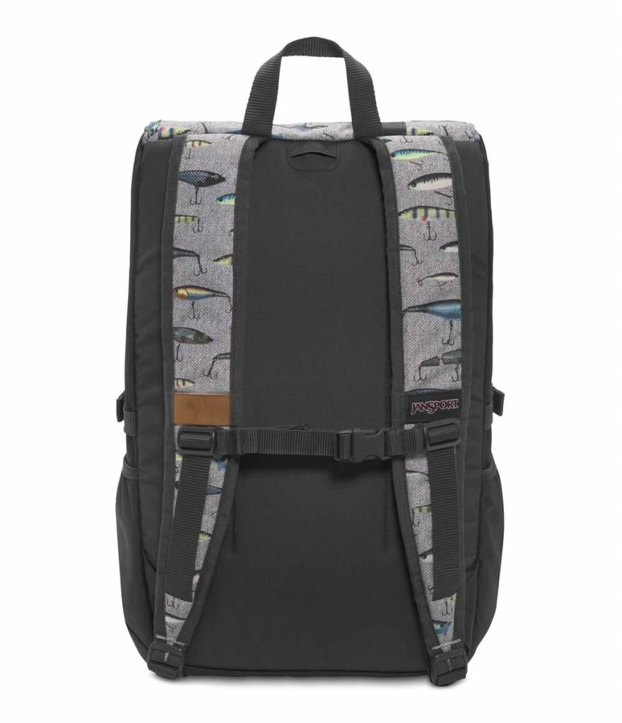 Jansport Jansport Hatchet backpack Multi Fishing Lures