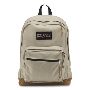 Jansport Sac A Dos Jansport Right Pack Back Pack Desert Beige