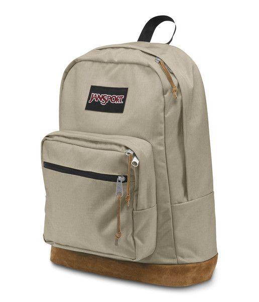 Jansport Sac A Dos Jansport Right Pack Back Pack Desert Beige