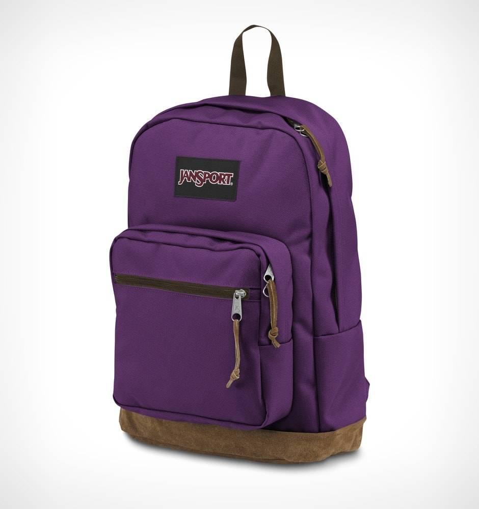 Jansport Sac A Dos Jansport Right Pack Back Pack Vivid Purple