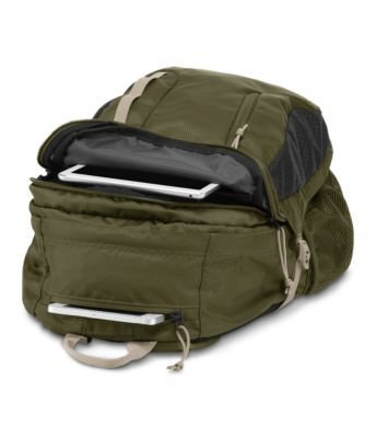 Jansport Sac A Dos Jansport Agave Backpack Green Machine / Grey Tar