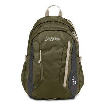 Jansport Sac A Dos Jansport Agave Backpack Green Machine / Grey Tar