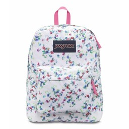 Jansport Jansport Superbreak Backpack Multi White Floral Haze