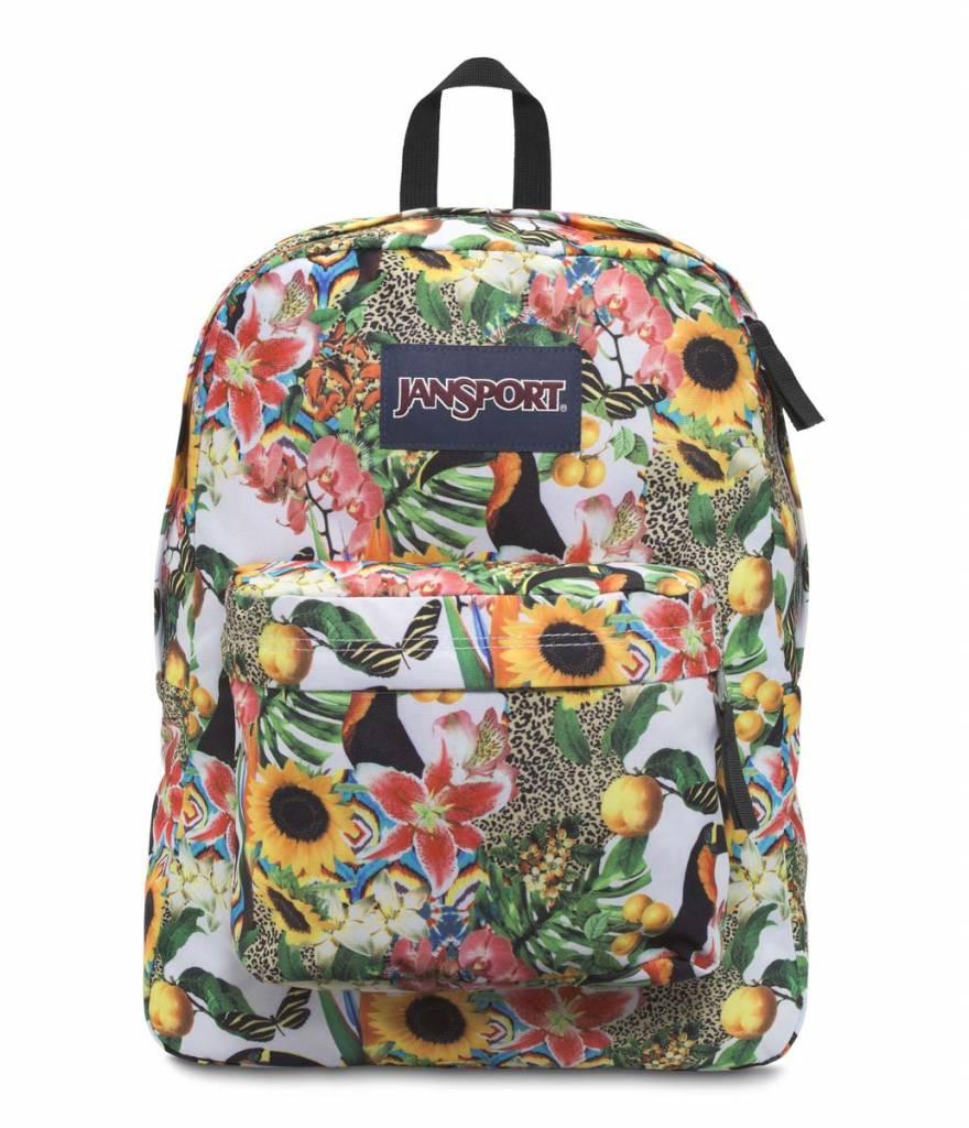 Jansport Jansport Superbreak Backpack Multi Jungle Jam