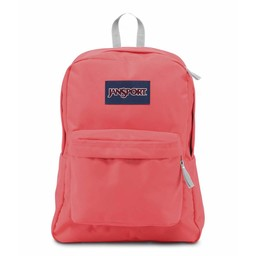 Jansport Jansport Superbreak Backpack Coral Sparkle
