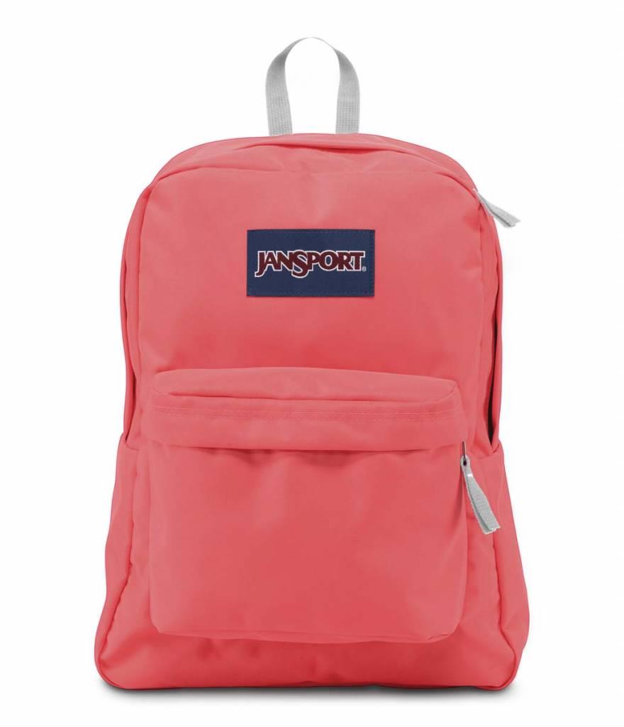 Jansport Jansport Superbreak Backpack Coral Sparkle