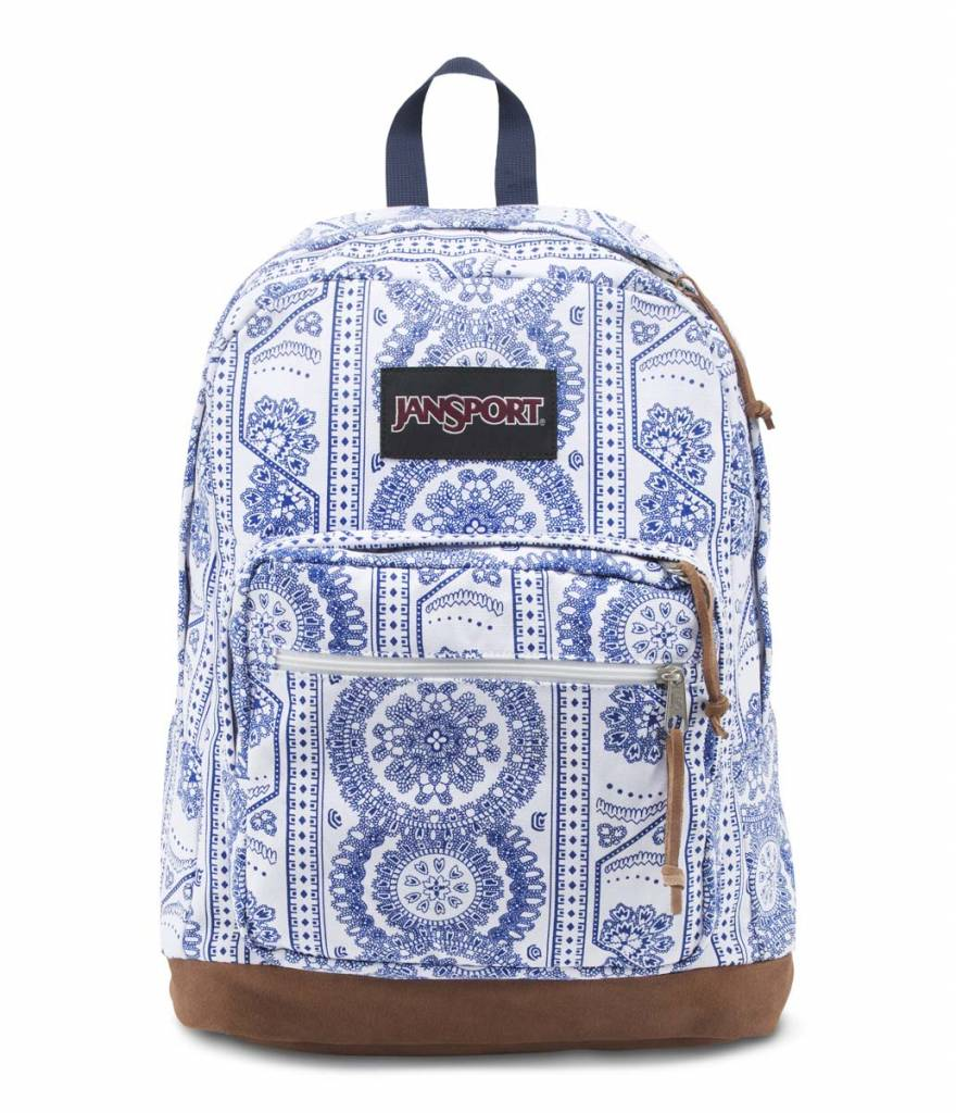 Jansport Sac a dos Jansport Right Pack Expression backpack White Swedish Lace