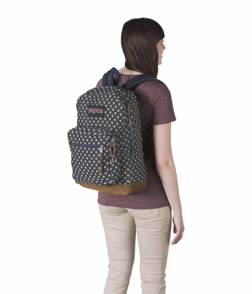 Jansport Jansport Right Pack Expression backpack Navy Twiggy Dot Jacquard