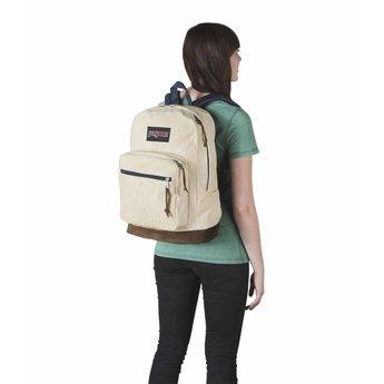 Jansport Sac a dos Jansport Right Pack Expression backpack Natural Speckled Canvas