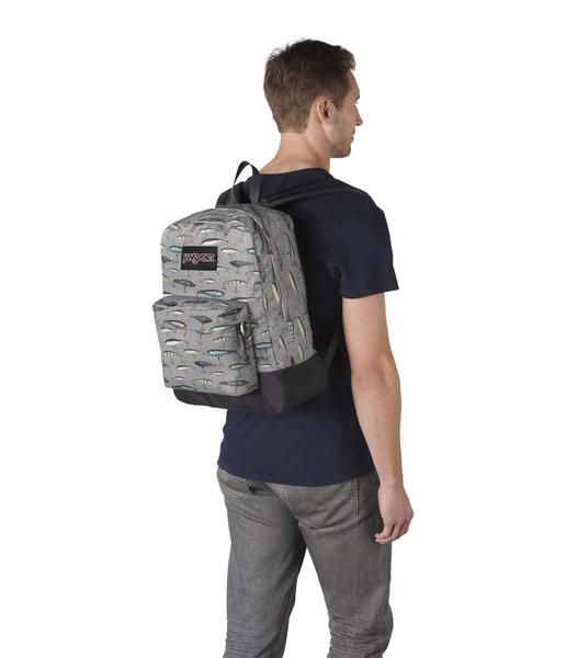 Jansport Sac a dos Jansport Black Label Superbreak backpack Multi Fishing Lures