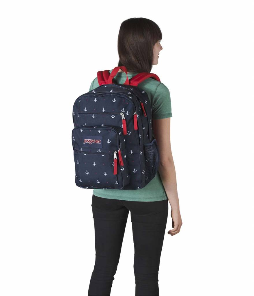 Jansport Sac a dos Jansport Big Student Red Tape / Land Ahoy