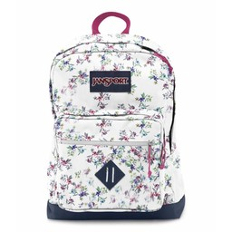 Jansport Sac a dos Jansport  city scout back pack Multi White Floral Haze