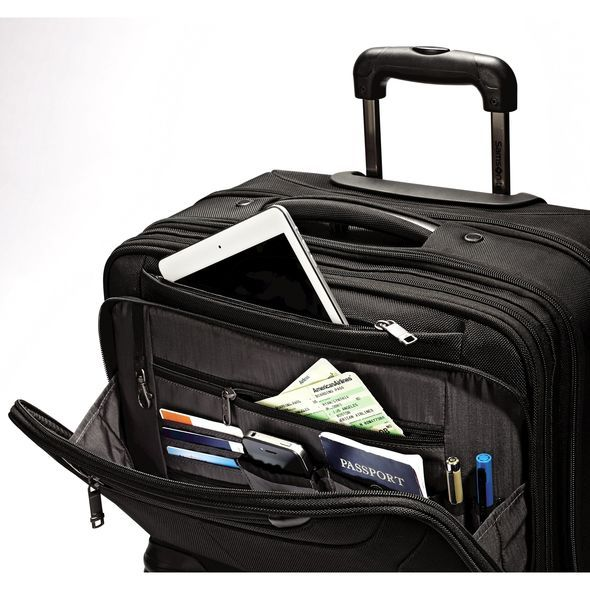 Samsonite Porte Documents Samsonite Ballistic Business 2 Spinner Mobile Office PFT