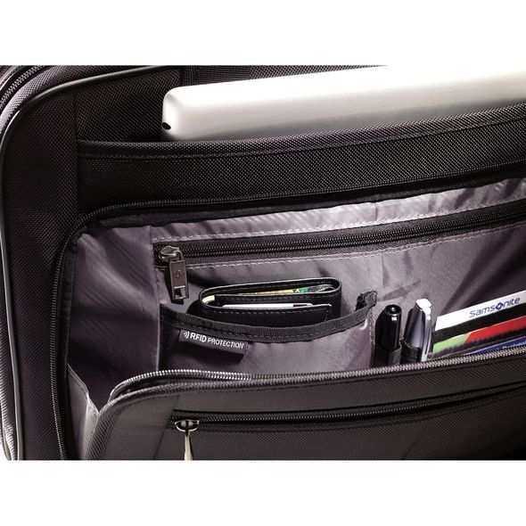 Samsonite Briefcase Samsonite Classic 2 Three Gusset TSA Briefcase